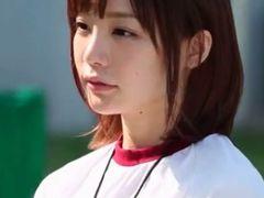 鈴村あいり|部活の美少女マネージャーが部員の男達の性処理をさせられる動画