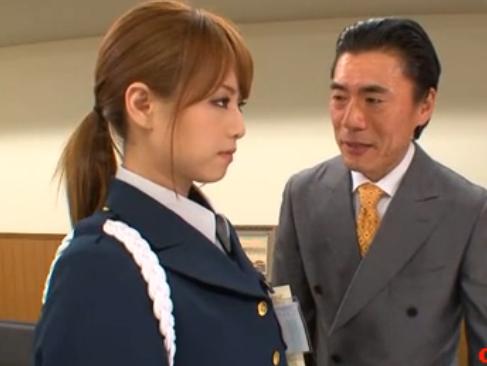 吉沢明歩|犯された美人警備員|弱みを握られて堕ちてゆく出来るオンナ