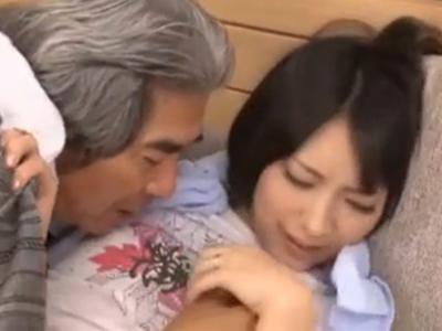 阿部乃みく|お義父さん、あそこが疼いてしょうがないんです|義父に寝取られる若妻