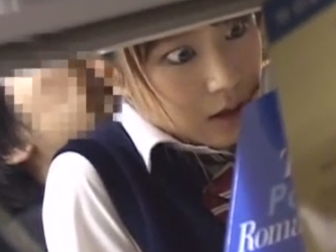 女子高生|電車やら図書館で痴漢&ハメ